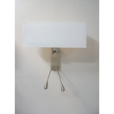 Double Wall Lamp with Two Adjustable LED Reading Lights for Marriott AC Hotels WL11096
