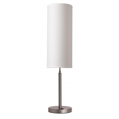 Attirant Hotel Nightstand Table Lamp With Cylinder Shade TL11119