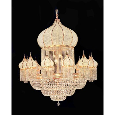 Big crystal chandelier for hotel ch11035 aloadofball Image collections