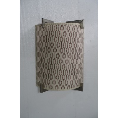 Wall Sconce with Printed Pattern Shade for Marriott Courtyard Inn Cynergy