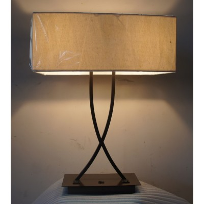 Nightstand Table Lamp With Outlets For Staybridge Suites