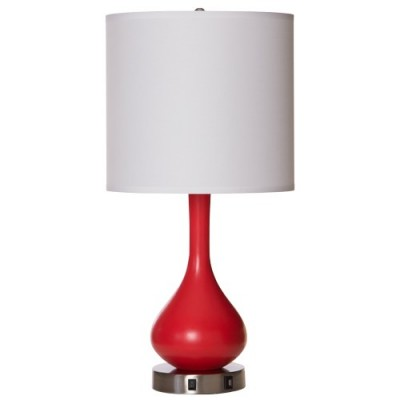 Hampton Inn FYI Table Lamp With USB Charging Station Port Outlet