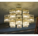 Big Chandelier with Glass Rods