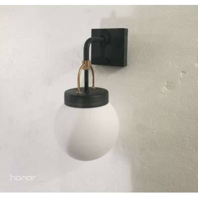 Acrylic Globe Sconce Wall Lamp