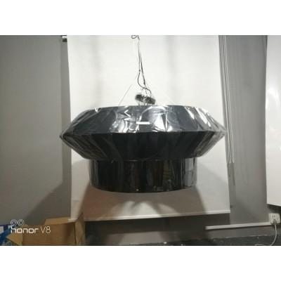 Large Fabric Shade Pendant Black Shade Lamp