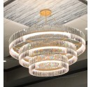 Large Lobby Chandelier Crystal Chanelier Lighting