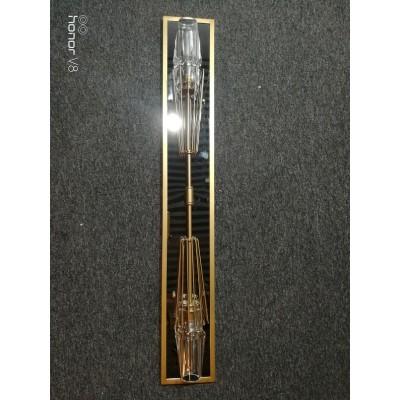 Crystal Shade Sconce Glass Shade Wall Lamp