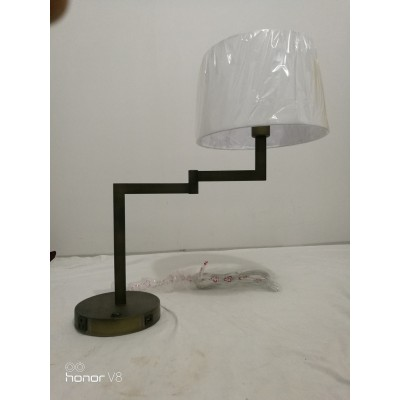Swing Arm Table Lamp with USB Port