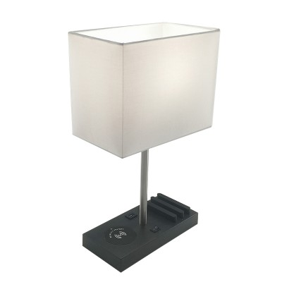 Desk Lamp with Wireless Charger