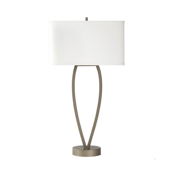 Bedside Table Lamp With Usb Charging Port For Hotel